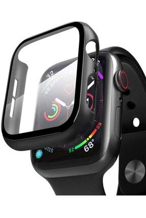 TahTicMer Apple Watch 38mm Tpu Çerçeveli Ekran Koruyuculu Ön Çerçeve Kılıf 0