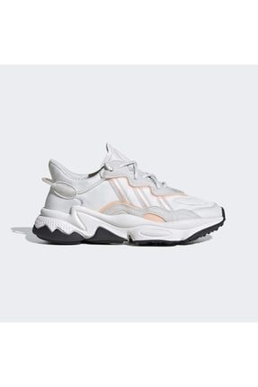 adidas Unisex Beyaz Ozweego J Spor Ayakkabı 0