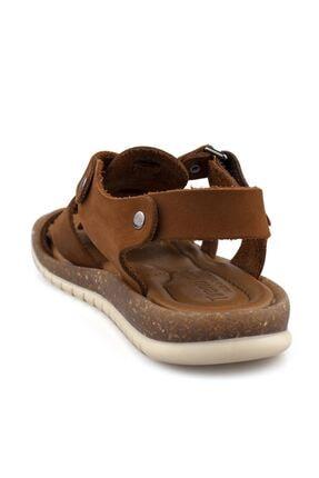 Cici Bebe Ayakkabı Erkek Çocuk Kahverengi Sandalet 2