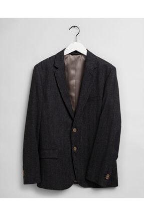 Gant Erkek Antrasit Blazer Ceket 0