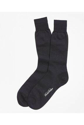 BROOKS BROTHERS Erkek Lacivert Çorap 0
