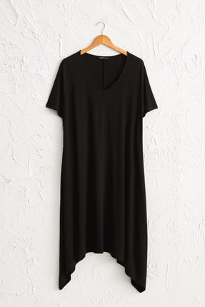 LC Waikiki Kadın Orta Mavi Elbise 0WCM35Z8 0