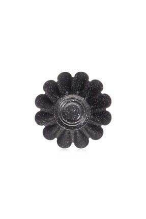 EWs Mat Siyah Yonca Şekilli 24 Cm Kek Kalıbı 1