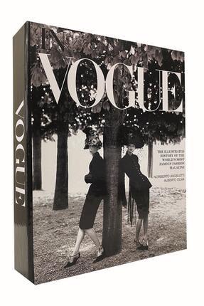 LYN HOME & DECOR Vouge Kadınlar Dekoratif Kitap Kutu 0