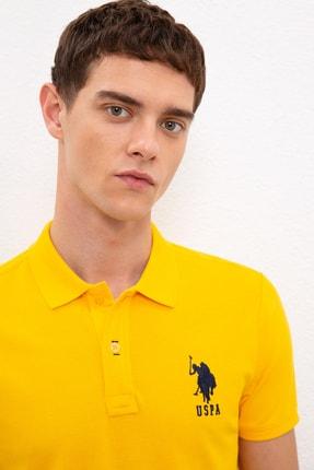 US Polo Assn Sarı Erkek T-Shirt 1