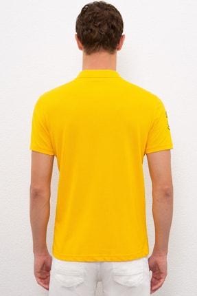 US Polo Assn Sarı Erkek T-Shirt 2