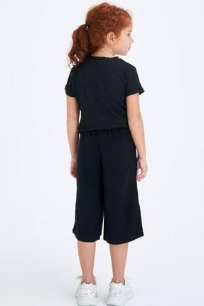 Defacto Beli Kuşaklı Culotte Pantolon 1