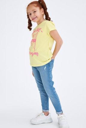 Defacto Baskılı Kısa Kollu T-shirt 1