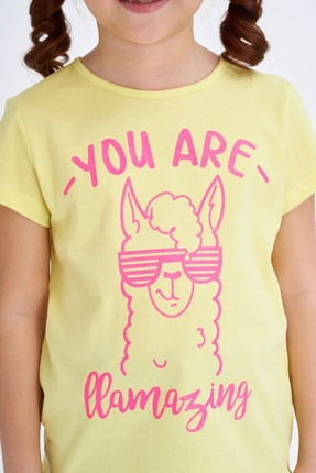 Defacto Baskılı Kısa Kollu T-shirt 2