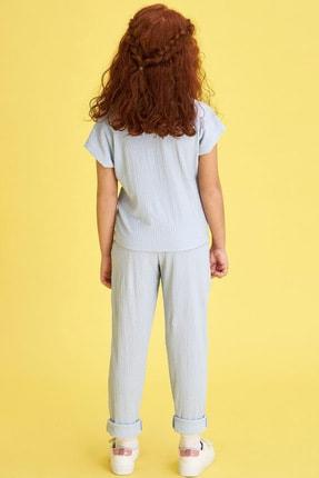 Defacto Kız Çocuk Basic T-shirt Pantolon Takım 2