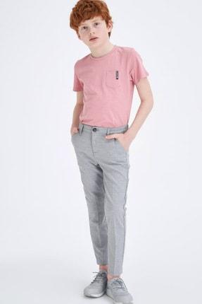 Defacto Erkek Çocuk Slim Fit Dokuma Pantolon 0