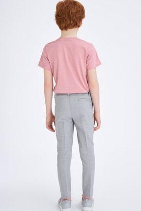Defacto Erkek Çocuk Slim Fit Dokuma Pantolon 2