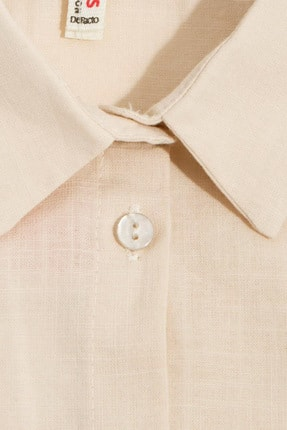 Defacto Kız Çocuk Bağlama Detaylı Kolsuz Gömlek 3