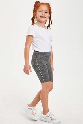 Defacto Kız Çocuk Slim Fit Basic Tayt 0