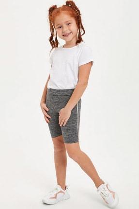 Defacto Kız Çocuk Slim Fit Basic Tayt 1