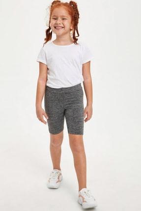 Defacto Kız Çocuk Slim Fit Basic Tayt 2
