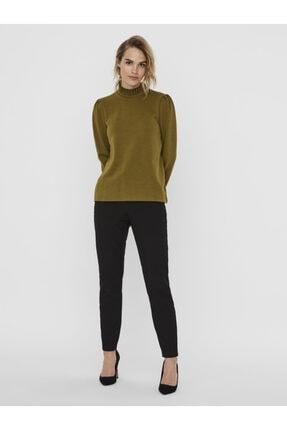 Vero Moda Kadın Yeşil Yaka Detaylı Sweatshirt 10206533 VMFOREST 2