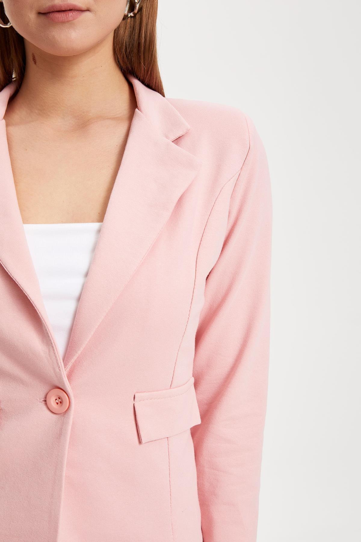 Defacto Kadın Pembe Blazer Ceket L1969AZ.19SM.PN368 2
