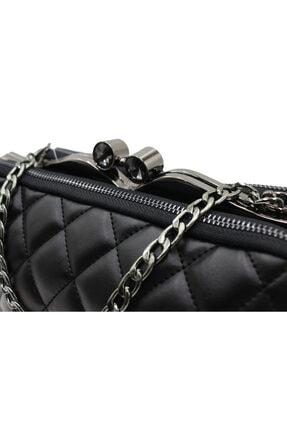 Sanmorris 5003 Kadın Çapraz Çanta Bayan Çanta Siyah-siyah 1