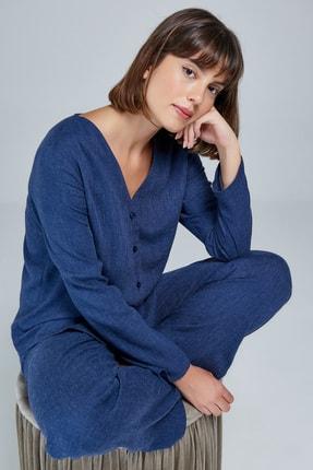Appleline Düğmeli Pijama Takımı 2