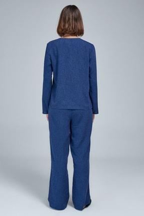 Appleline Düğmeli Pijama Takımı 3