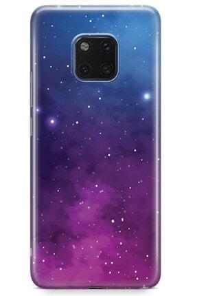 Zipax Huawei Mate 10 Lite Galaksi Desenli Baskılı Silikon Kılıf 2