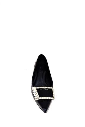 Heels Siyah Kadın Kısa Topuklu Stiletto 2