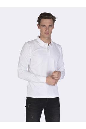Giorgio Di Mare Erkek Beyaz Kısa Kollu Polo T-shirt 0