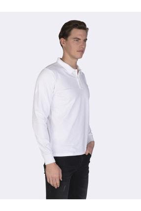 Giorgio Di Mare Erkek Beyaz Kısa Kollu Polo T-shirt 2