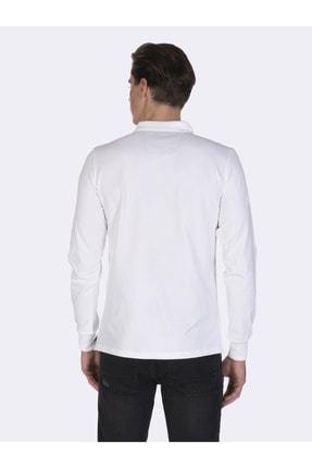 Giorgio Di Mare Erkek Beyaz Kısa Kollu Polo T-shirt 3