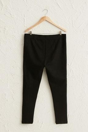 LC Waikiki Kadın Siyah Pantolon 0WCL98Z8 2