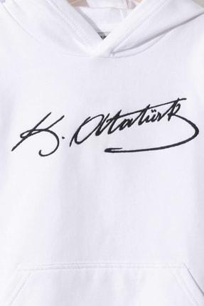 LC Waikiki Erkek Çocuk Parlak Beyaz Jyx Sweatshirt 2
