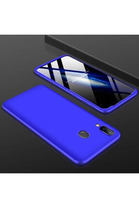 Zore Huawei P Smart 2019 - Kılıf 360° Full Koruma 3 Parça Parmak Izi Tutmayan Kapak - Ays 0