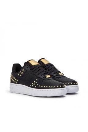 Nike Kadın Siyah Air Force 1 '07 Xx Sneaker Ayakkabı Ar0639-001 2