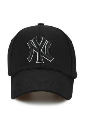 CosmoOutlet NY New York Yankees Siyah Şapka P-080 0