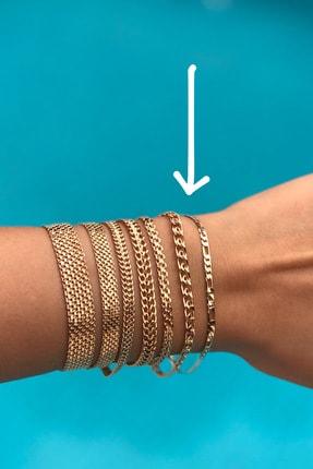 Novon Giyim & Aksesuar 18k Altın Kaplama A+ Kararmama Garantili Premium Zarif Bileklik 1