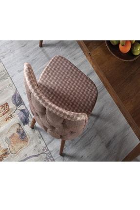 Ervo Kapiçino Merkür Premier  6 Sandalyeli Yemek Masa Takımı 4