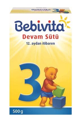 Bebivita 3 Numara Devam Sütü 500 gr 0