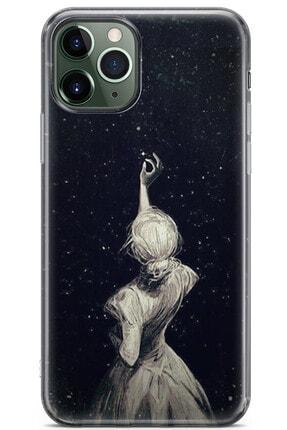 Zipax Samsung Galaxy M11 Kılıf Yıldız Ve Gece Desenli Baskılı Silikon Mel-109597 0