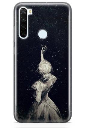 Zipax Samsung Galaxy M11 Kılıf Yıldız Ve Gece Desenli Baskılı Silikon Mel-109597 3