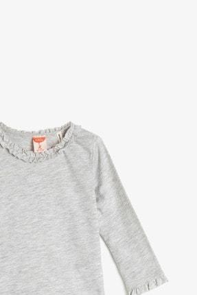 Koton Kar Melanj Kız Bebek T-Shirt 2