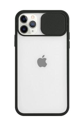 Spoyi Iphone 11 Pro Max Kamera Lens Korumalı Siyah Telefon Kılıfı 0