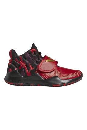 adidas Unisex Kırmızı Deep Threat (gs) Spor Ayakkabı 0
