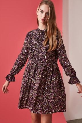 TRENDYOLMİLLA Çok Renkli Desenli Elbise TWOAW21EL0610 1