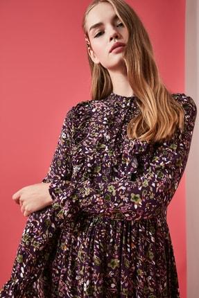 TRENDYOLMİLLA Çok Renkli Desenli Elbise TWOAW21EL0610 3