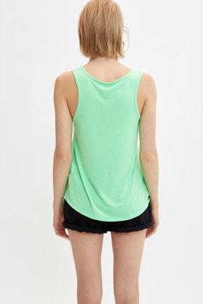 Defacto Kadın Yeşil Baskılı Atlet L9511AZ.19HS.GN825 3