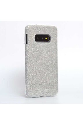 Dijimedia Samsung S10e - Kılıf Simli Silikon Koruyucu Telefon Kılıfı Sınıng 0