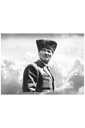mağazacım Atatürk Portre (40x60 Cm) Kanvas Tablo Tbl1225 2
