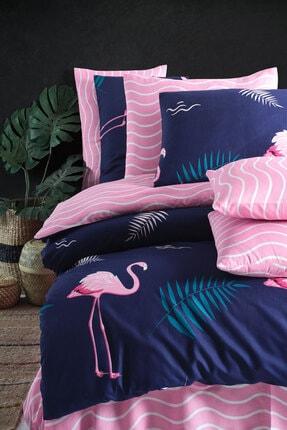 Nakkısh Flamingo Çift Kişilik Nevresim Takımı 2