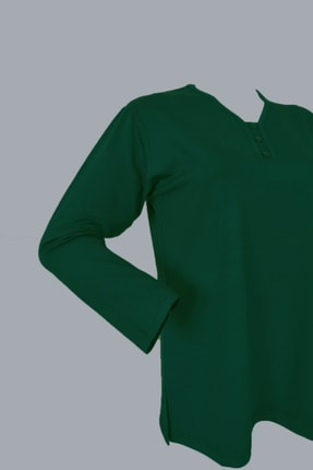 Rüya Kadın Yeşil Anne Penye Bluz 1